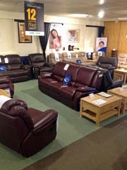 Sofas & Chairs in our showroom