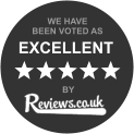 reviews.co.uk voted excellent