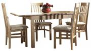 corndell nimbus extending dining table with 6 chairs