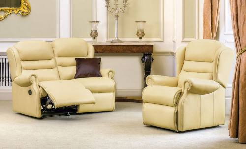 sherborne ashford leather sofas, recliners & suites