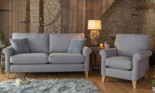 Poppy 3 seater sofa + standard chair
