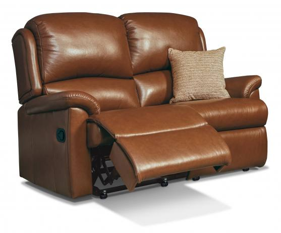 Sherborne Virginia Small Reclining 2 Seater Sofa - Leather