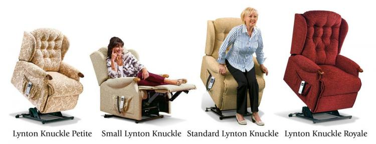 sherborne lynton knuckle lift & rise range of chairs